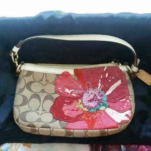 Coach Floral handbag